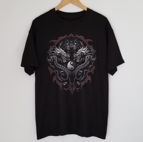 2/$20 Dragons graphic tee